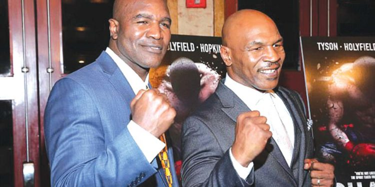 Familiar foes Evander Holyfield and Mike Tyson set to return to ring
