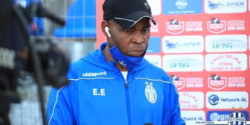 Former Nigeria international, Emmanuel Ndubuisi Egbo, who has become the first Nigerian and African to lead a European club to a top tier domestic title