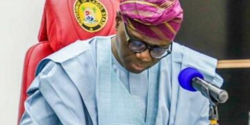 Lagos State Governor, His Execellency, Babajide Sanwo-Olu